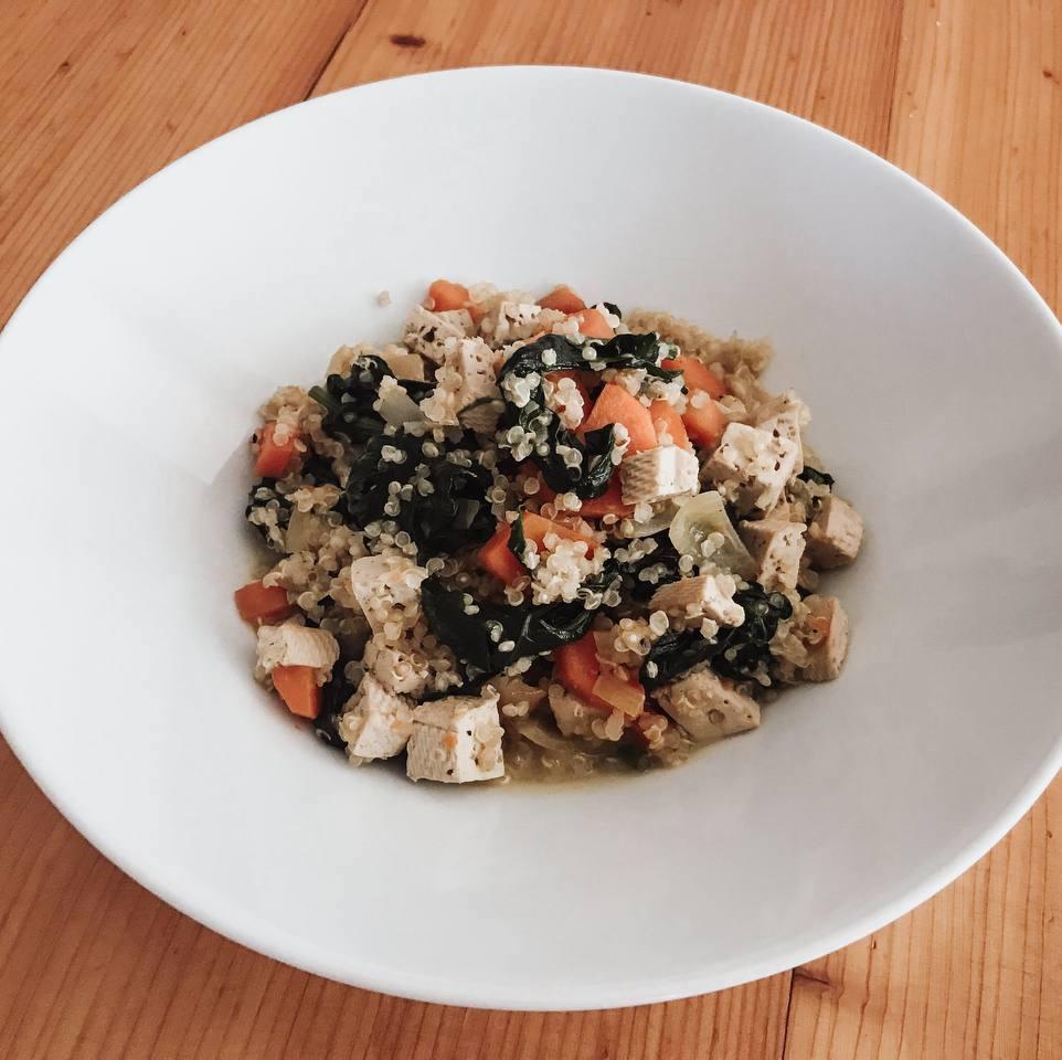Leckere Quinoa-Bowl